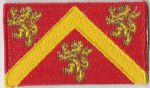Anglesey Embroidered Flag Patch, style 04